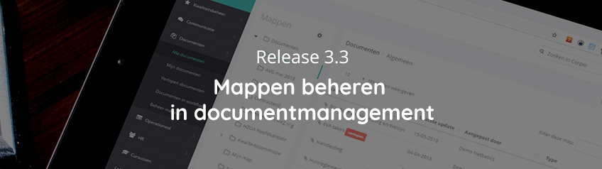 Mappen beheren in documentmanagement – Release 3.3